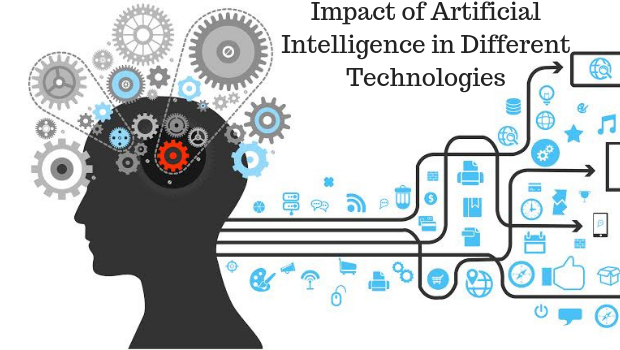 Impact of Artificial Intelligence in Different Technologies